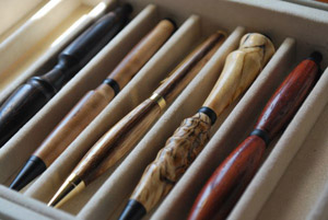 Chris Peterson's Pens